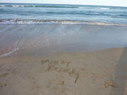 Manly Beach...plage no.2...et je crois qu'il y en aura beaucoup plus à venir!