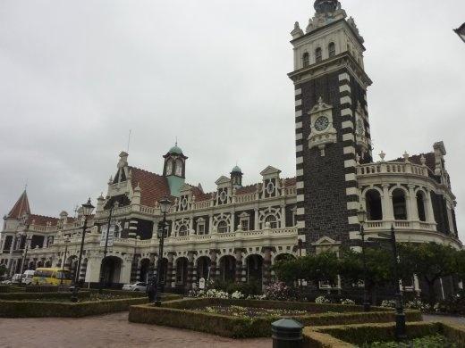 La gare de Dunedin...le building le plus populaire du pays!