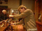 Nous avons visiter la brasserie Speights--une biere commune ici et Ted a pu jouer le barman!: by emilpeace, Views[336]