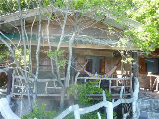 Notre petit bungalow pour les prochains 4 jours.