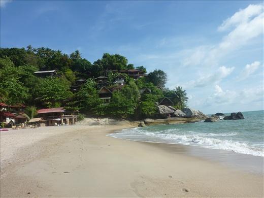 Than Sadet Beach sur Koh Pha Ngan Island...notre petit paradis!