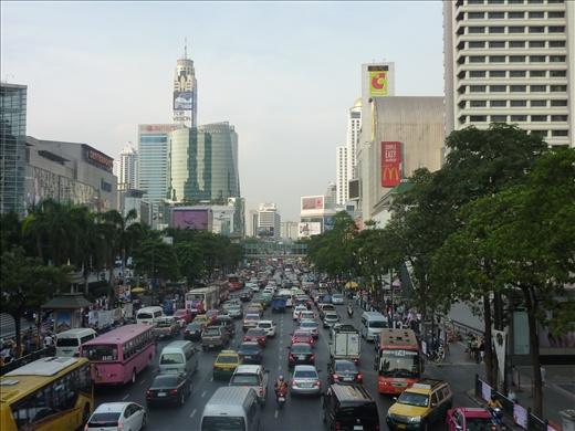 Un exemple du traffic constant!
