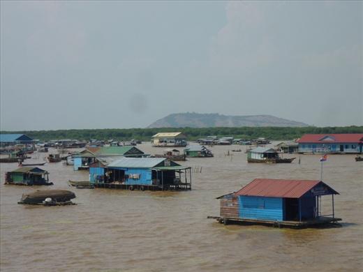 Partie de la vue d'ensemble de Kham Phong Pluk