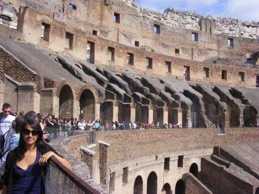 At the Colosseum