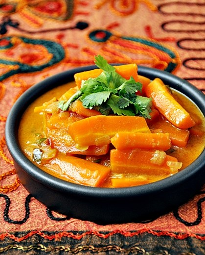 Spicy Carrot Coconut Curry 1