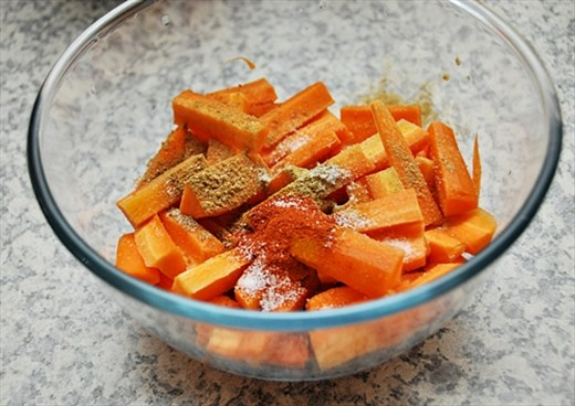 Spicy Carrot Coconut Curry 4