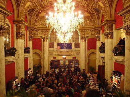 Opera House foyer during intermission