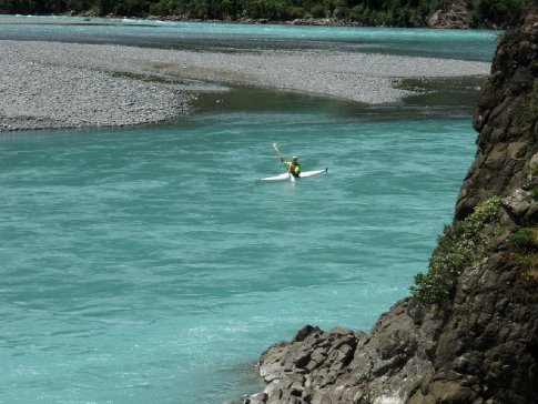 Paddling the Waimak's green waters for C2C