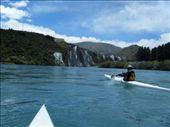 Scott paddling down the Shotover River: by emma-o-scott, Views[340]