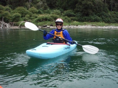 Our rental whitewater boats on the Class III