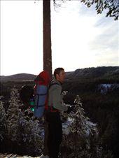 Winter hike along the Lögdeälven river, Sweden: by emma-o-scott, Views[392]
