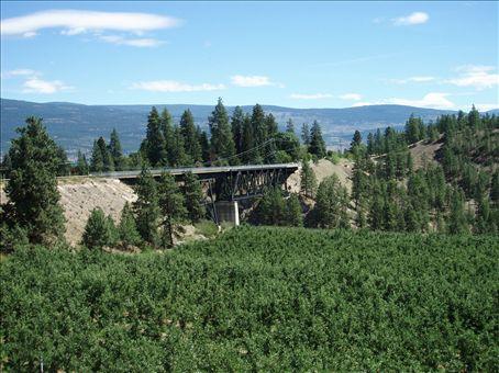 Cool train bridge
