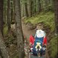 Hiking up to Berg Lake at Mt Robson. Our mexican free passenger, gulebjorn, gets a ride ;-)  Views[333]
