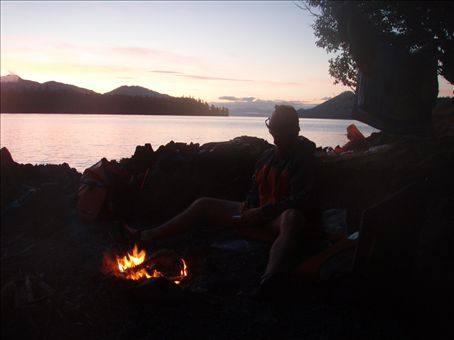 many campfires and sunsets!