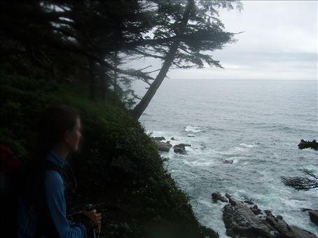 Beautiful views of the rugged coastline