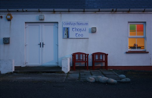 The Community Centre where Patsy holds many events for his Island.