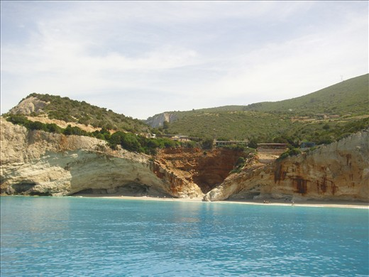 Porto Katsiki, Greece, one of the three top beaches at the Mediterranean sea