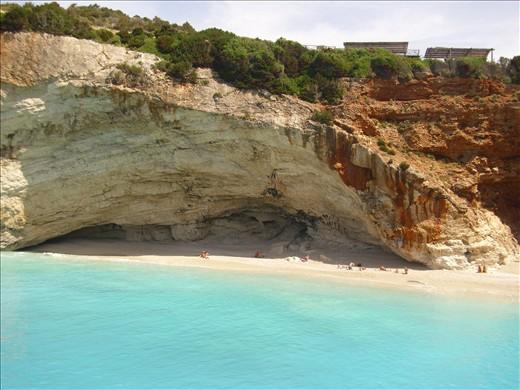 Porto Katsiki, Greece, one of the three top beaches at the Mediterranean sea
