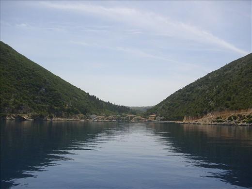 Ithaka, Odysseus'  island -The unforgettable coast