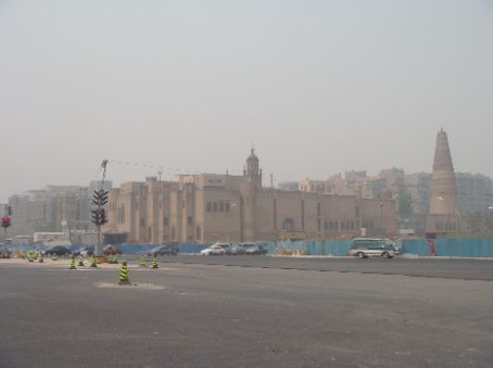 Large mosque south of Olympic area