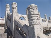 Elaborately carved stones on the stair rails.: by enanareina, Views[561]