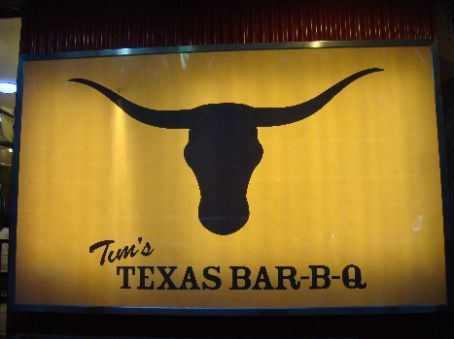 Muster was held at Tim's Texas Bar-B-Q, run by Texas Tim