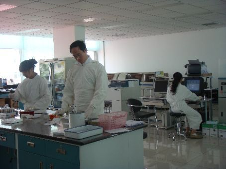 A state of the art microbiology lab