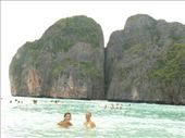 At Maya Beach (where 'The Beach' was filmed): by entertainers, Views[239]