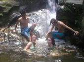Alpha Family, on Waterfall excursion: by entertainers, Views[377]