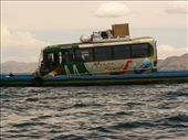 Hopefully this boat won´t sink, cause all our luggage is on the bus!: by entertainers, Views[247]
