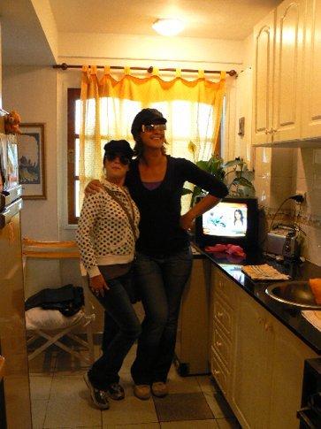 Hatshow in Romina's kitchen