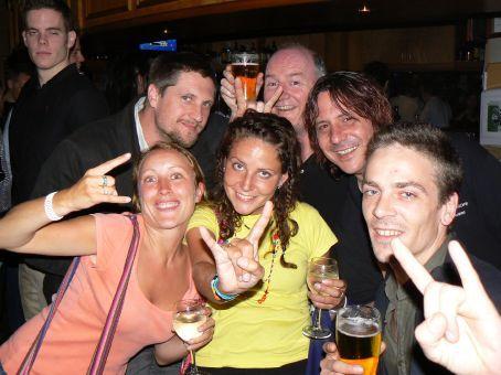 Grace, MT, Frankie, Jeremy, Paddy the Pilot and Martin