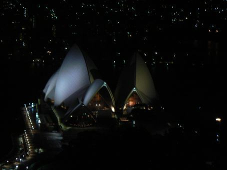 Five star view of the Opera House
