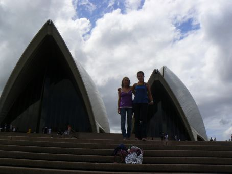 The two models at the Opera House