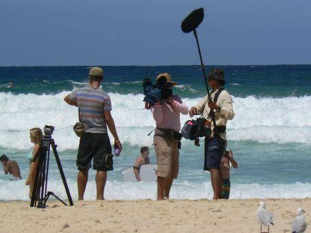 Watch out for us on next episode of 'Bondi Rescue'!