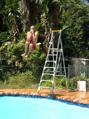 Macaco boy in Strathfield jungle