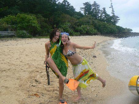Brazilian brides on the Whitsunday Islands