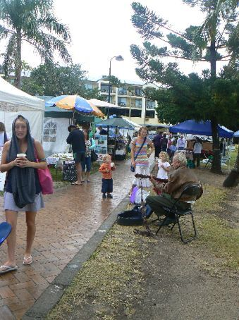 The markets on Airlie Beach