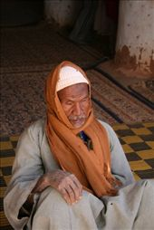 An old blind man from Dakhla in West Desert/Egypt: by erika, Views[207]