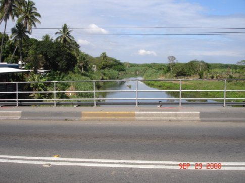 From the bus, on our way into Nadi Town.