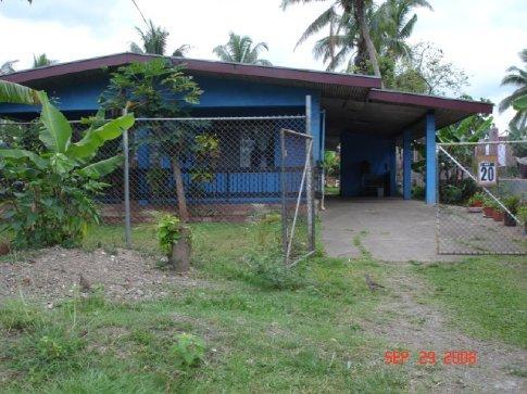 Dee's house.  Very nice by Fiji standards.