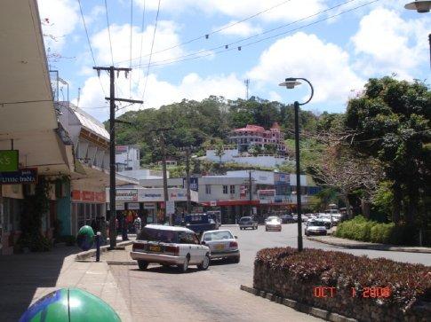 Downtown Sigatoka.