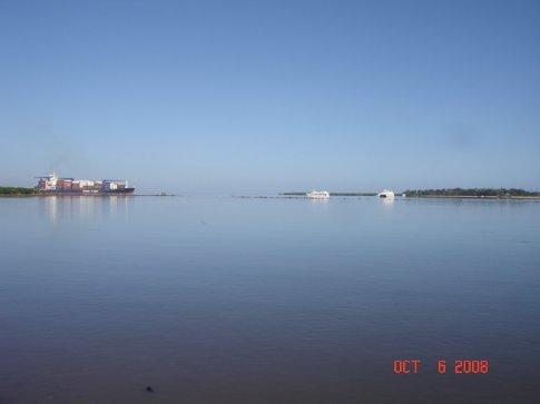The wharf in Lautoka.
