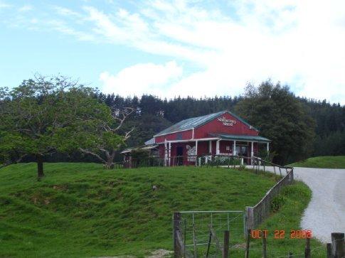 The Shearing Shed in Waitomo.