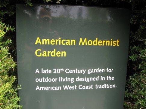The American Garden...
