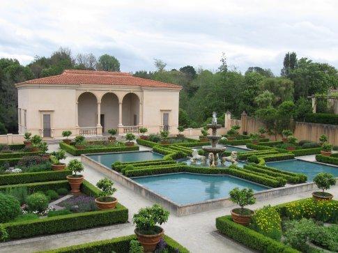 This is the Italian Garden.