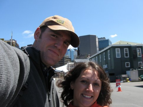 A sunny day in Wellington.