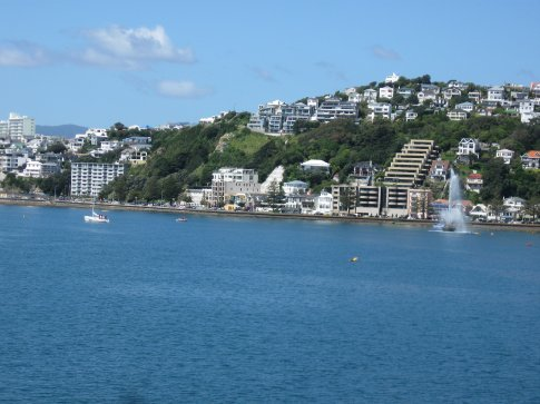 The harbor in Wellington.