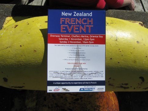 The French event we stumbled upon.