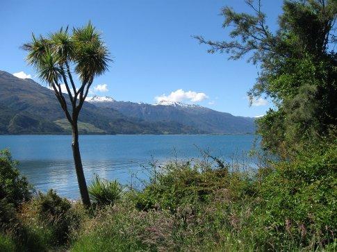 Our spot by Lake Wanaka.